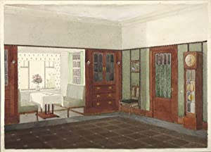 jugendstil interieur wohnzimmer