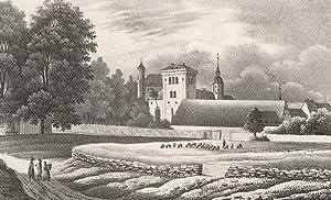 Gamig (Dohna). - Ansicht der Pfarrkirche und
