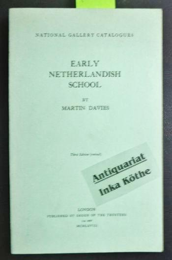 Early netherlandish Schools - National Gallery Catalogues: Davies, Martin: