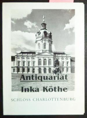 Schloss Charlottenburg -: Verwaltung der Ehemaligen