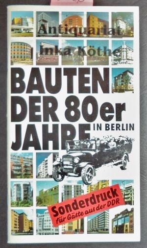 Bauten der 80er Jahre in Berlin -