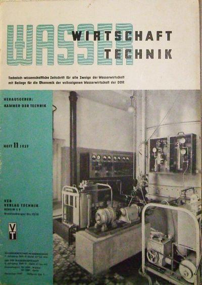 Wasserwirtschaft Wassertechnik - Technisch-wissenschaftliche Zeitschrift für alle: Kammer der Technik: