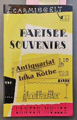 Pariser Souvenirs - Zeichnungen von Karlheinz Gottstein,: Carmiggelt, Simon und