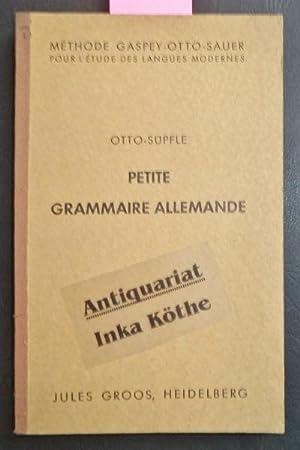 Petite Grammaire Allemande - Avec de Nombreux: Otto, Èmile und