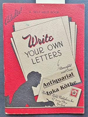 Write your own Letters - Simple Letters for Adults - a self-help Book -