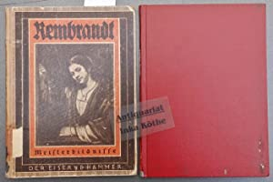 Rembrandt ++ ZWEI BÜCHER ++ Selbstbildnisse und: Hanfstaengl, Eberhard und