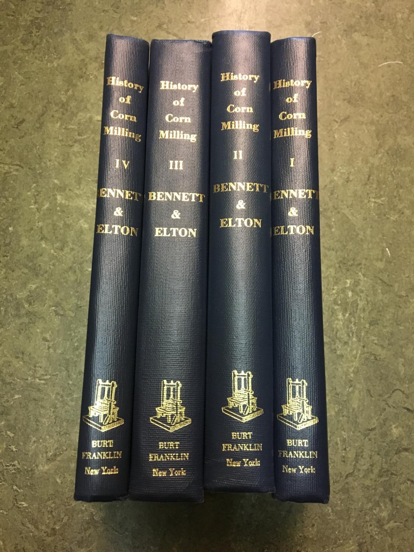 History of corn milling.: Bennett,Richard & J.Elton.