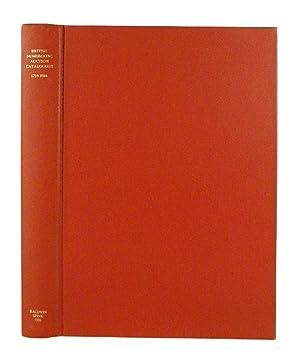 BRITISH NUMISMATIC AUCTION CATALOGUES 1710-1984: Manville, Harrington E.,