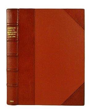 NUMISMATIC GUIDE TO BRITISH & IRISH PERIODICALS: Manville, Harrington E.