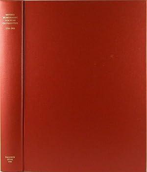 BRITISH NUMISMATIC AUCTION CATALOGUES 1710-1984. ENCYCLOPÆDIA OF: Manville, Harrington E.,