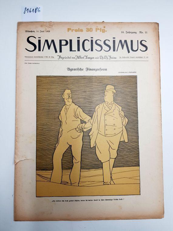 Bild Von Bruno Paul Jahrgang Nr Obligatorisch Simplicissimus 8 Spezialnummer 37