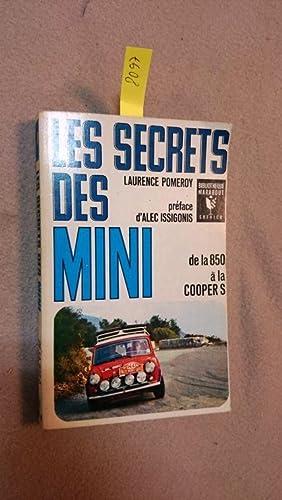 Les secrets des mini (de la 850: Pomeroy, Laurence: