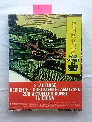 Holzschnitt im neuen China : zeitgenöss. Graphik: Haas, Jerg (Red.)