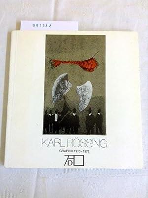Karl Rössing, Graphik 1915-1972: Albrecht, Dürer Gesellschaft: