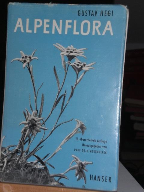 Alpenflora, herausgegeben von Prof. Dr. H. Merxmüller: Hegi Gustav