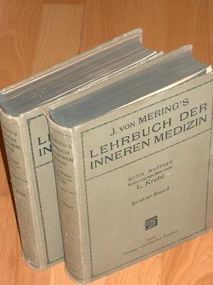 J. von Mering's Lehrbuch der inneren Medizin: Krehl L. HRSG