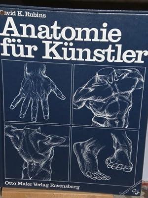 3473611069 - Anatomie für Künstler. von David Rubins - AbeBooks