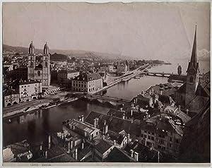 Original vintage 1880s albumen SWITZERLAND Zurich (2)