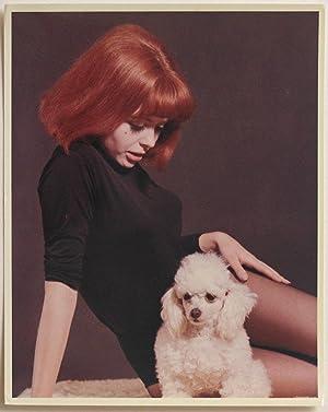 Original vintage 1960s color photo, girl in