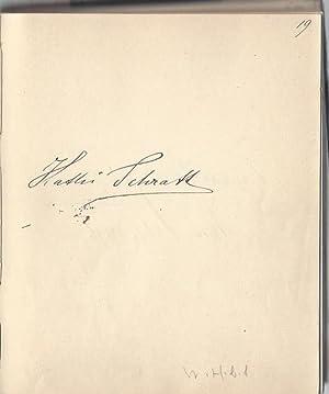 Stammbuch der Gräfin Maja Gallenberg mit 110: Stammbuch der Gräfin
