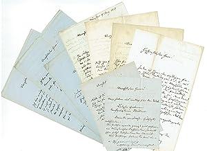 9 Eigenh Briefe Mit Unterschrift Schucking Levin Dt