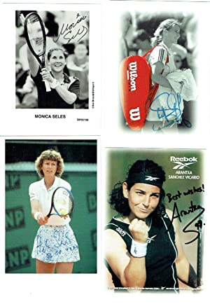 An excellent selection of signed 4 x 6 photographs and two signed cards