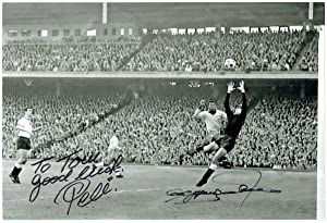 Signed and inscribed photograph.