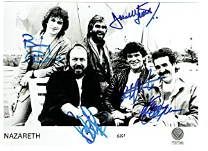 Signed photograph.