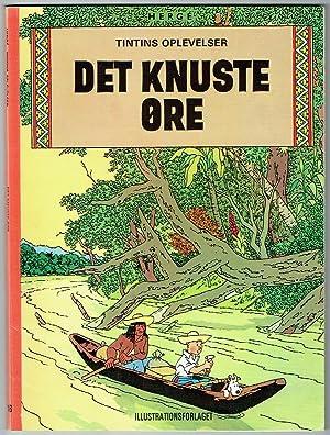 Hergé: Tintins oplevelser. Det knuste øre. Eigenh.: Remi, Georges Prosper