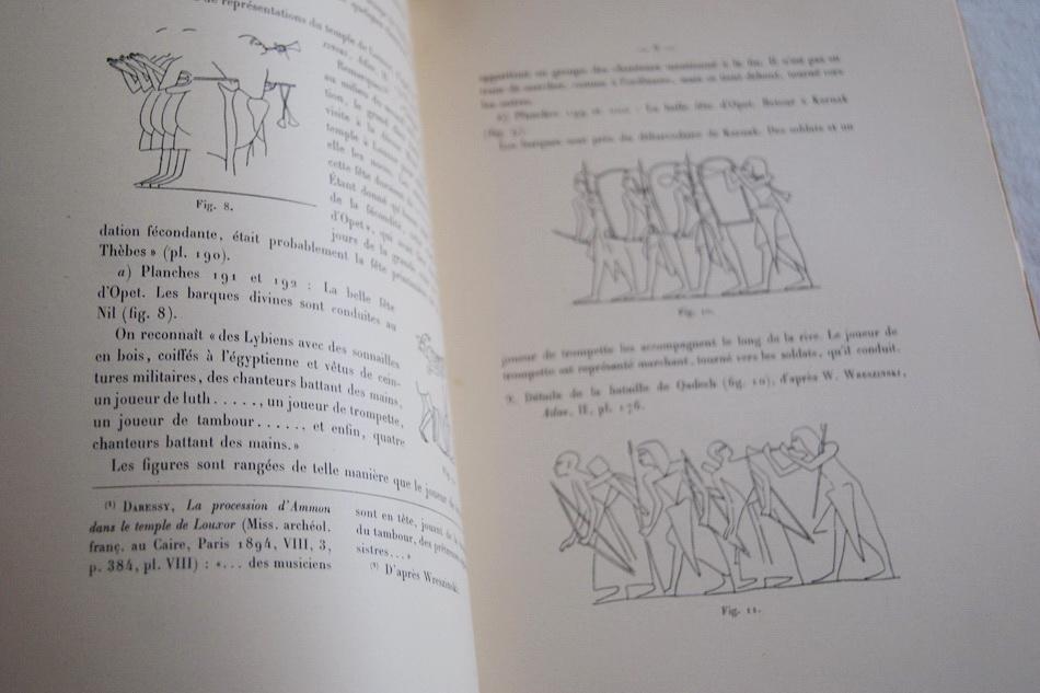 LA TROMPETTE DANS L'EGYPTE ANCIENNE Dr H. HICKMANN Near Fine Softcover
