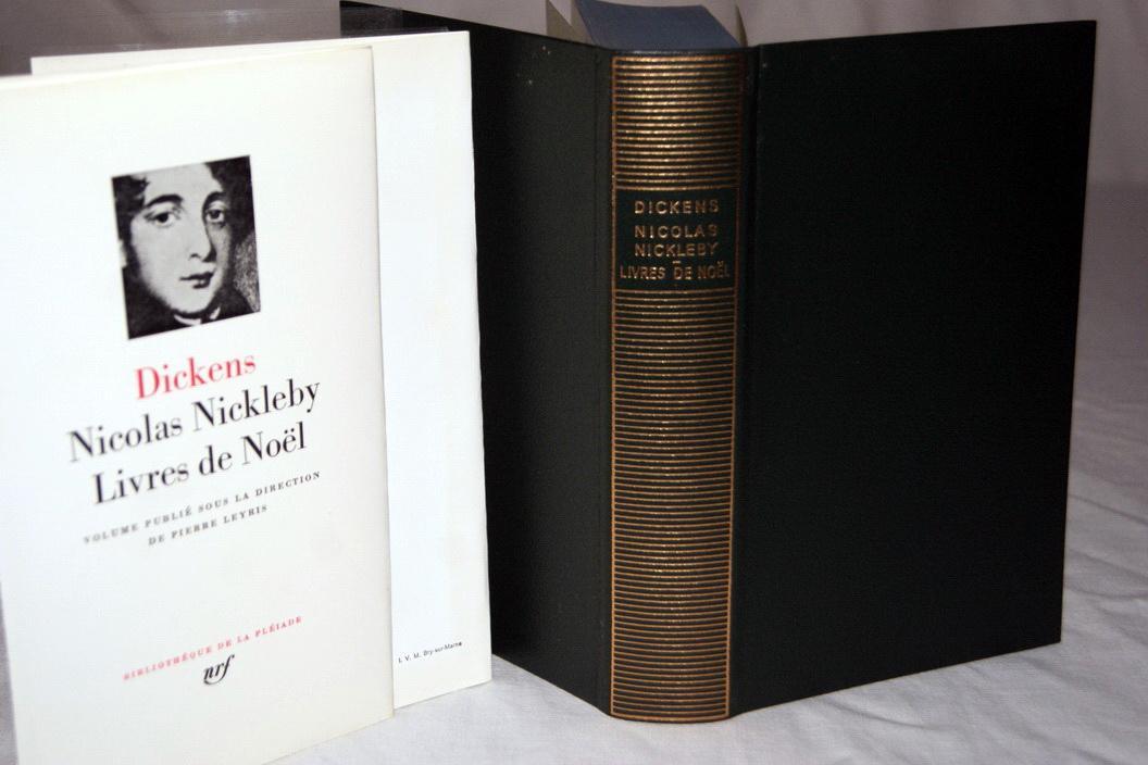 la pleiade dickens nicolas nickleby livres de noel by dickens gallimard n r f couverture