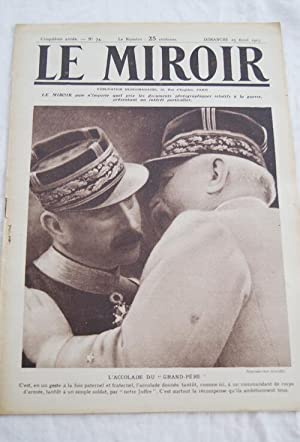 LE MIROIR N°74 EPARGES BELGIQUE MARINE CHASSEURS