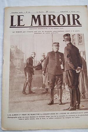 LE MIROIR N°65 BRUXELLES OCCUPE SOUS MARINS