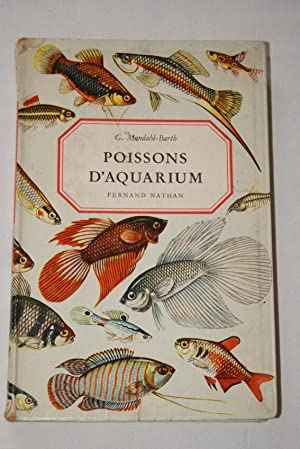 POISSONS D'AQUARIUM: G.Mandahl-Barth