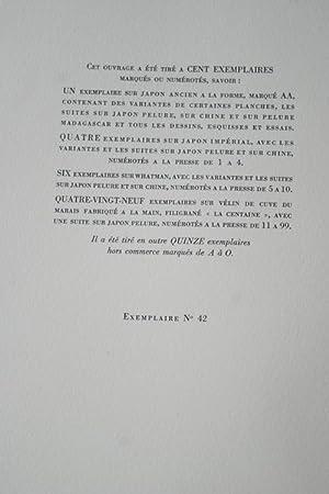 CIMETIERE MARIN-1927-tirage 100 Ex, illustré MARCHAND JAPON: VALERY Paul