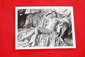 PHOTOGRAPHIE VINTAGE NU FEMME EROTIQUE STUDIO VERONESE PARIS 1950 MD214