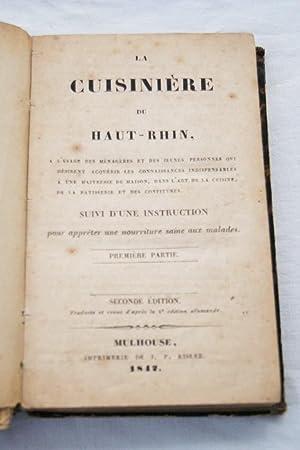 LA CUISINIERE DU HAUT-RHIN: Marguerite SPOERLIN