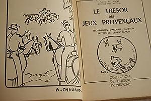 LE TRESOR DES JEUX PROVENCAUX: Charles GALTIER