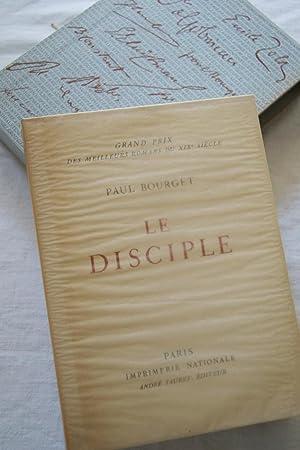 LE DISCIPLE: Paul BOURGET