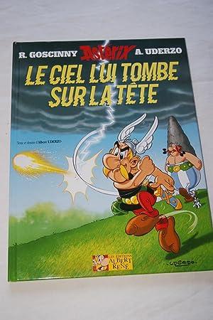 ASTERIX-LE CIEL LUI TOMBE SUR LA TETE: R.GOSCINNY-A. UDERZO