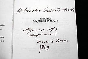 LE ROMAN DES JARDINS DE FRANCE-ENVOI: Denise et Jean-Pierre