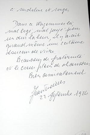 WAZEMMES DE MA JEUNESSE 1919-19136-DEDICACE: Jean Vindevogel