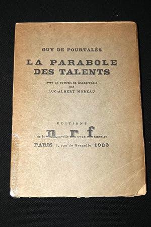 La Parabole des Talents: Guy de POURTALES