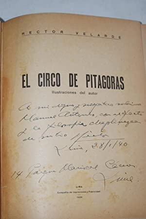 EL CIRCO DE PITAGORAS ENVOI: Hector VELARDE