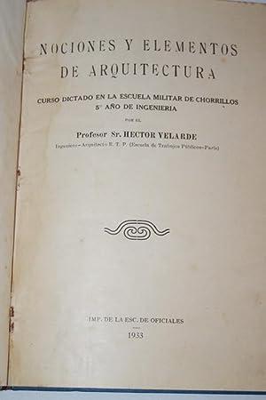 NOCIONES Y ELEMENTOS DE ARQUITECTURA-Envoi: Hector Velarde