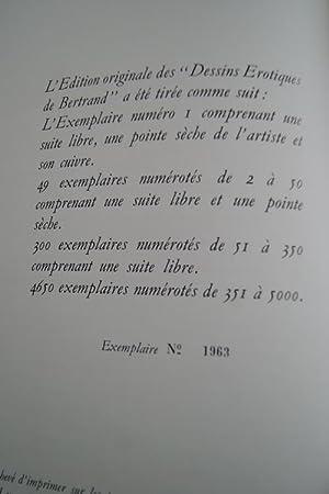 DESSINS EROTIQUES DE BERTRAND: Emmanuelle Arsan