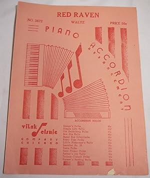 Red Raven Waltz. Piano Accordion Arrangement: Arrangement By Joseph