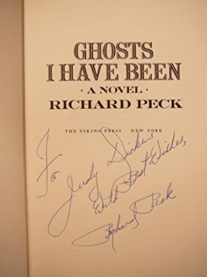 GHOSTS I HAVE BEEN: SIGNED