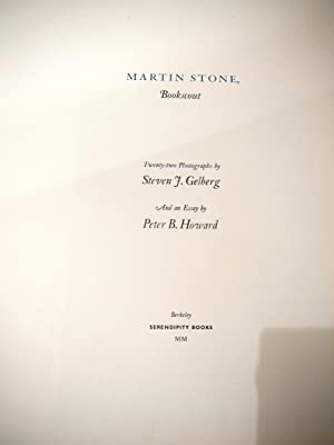 Martin Stone Bookscout: STEVEN GELBERG 22 Signed/mounted Photos