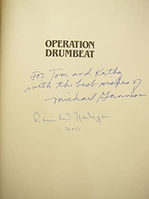 Operation Drumbeat: Signed by Gannon and Commander Hardegen